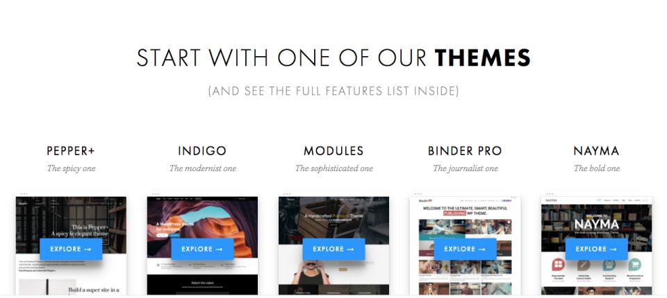 Modular WordPress Themes by Artisan Themes